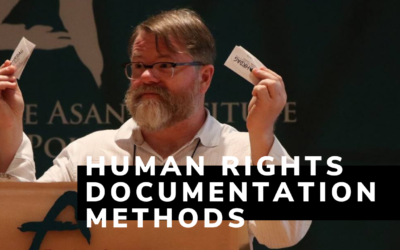 Human Rights Documentation Methods (Part 1)