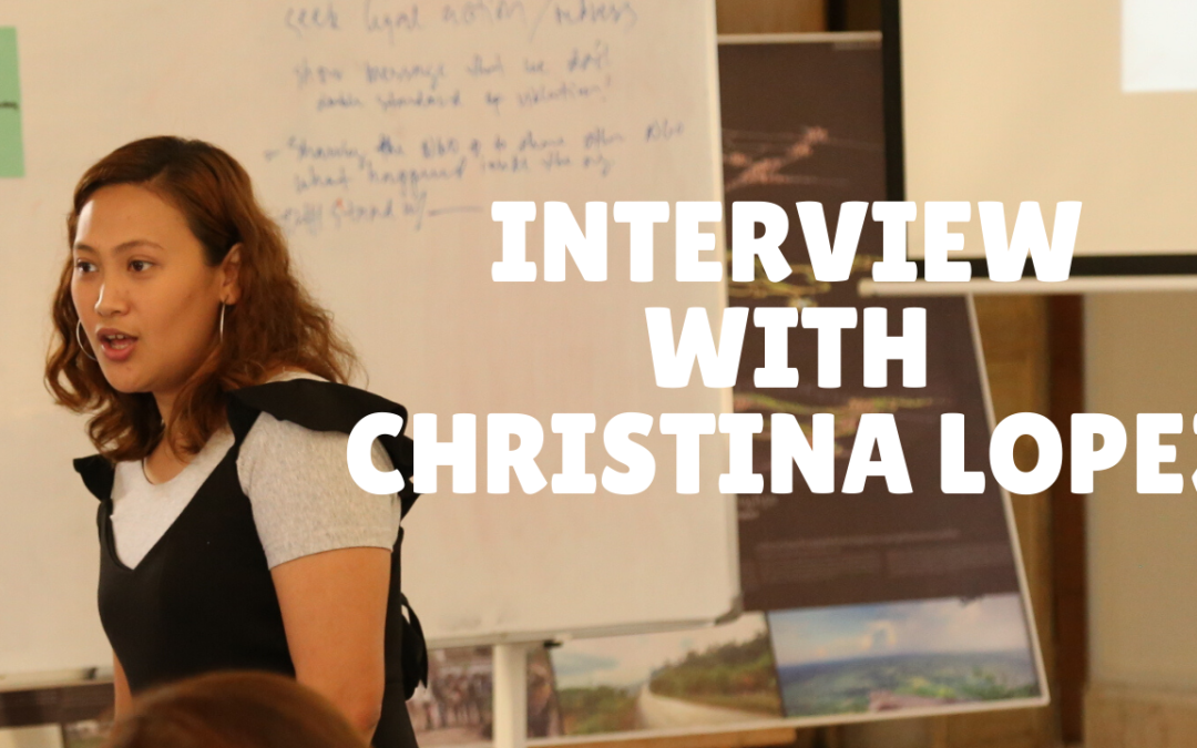 Interview with Digital Security Trainer Christina Lopez