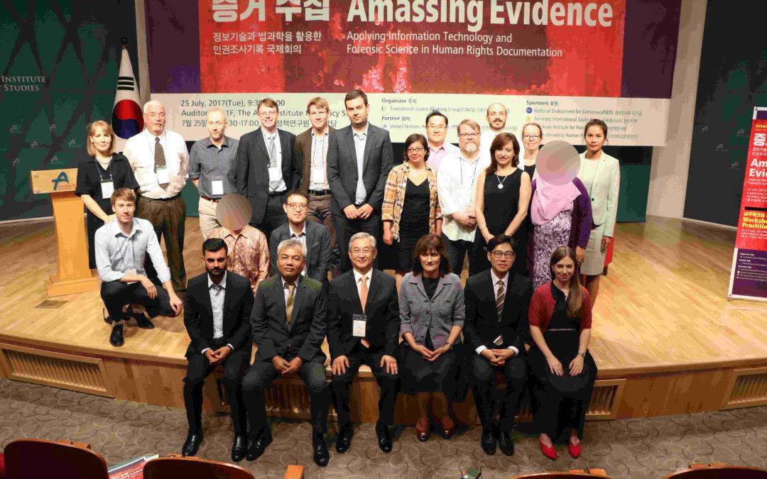 Amassing Evidence: International Conference