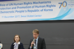 Giving Presentations on Human Rights Work